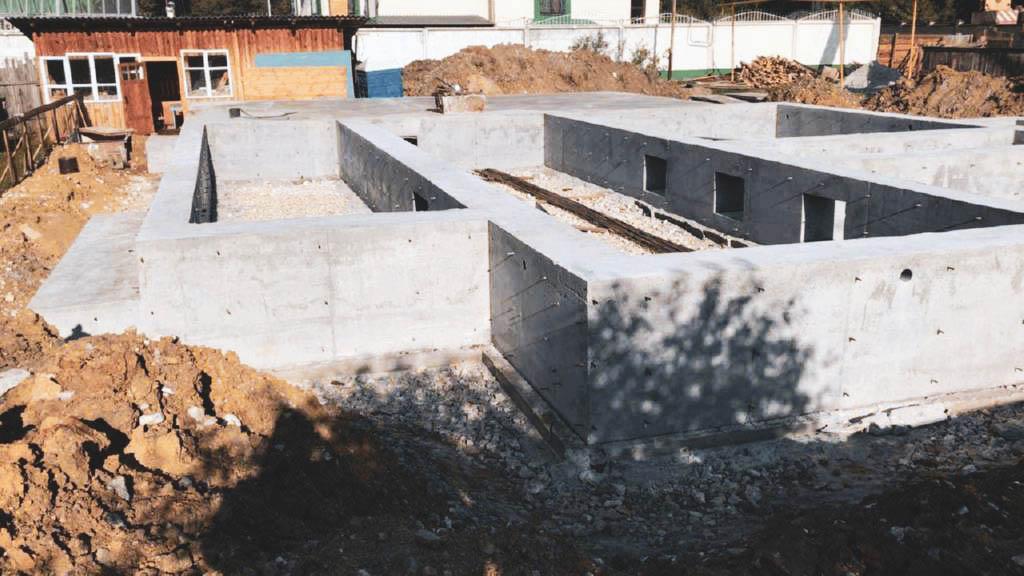 Свайно-ростверковый фундамент 28